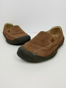 NEW KEEN GOLDEN LOAFER SHOES WOMENS 5 BROWN SUEDE  FREE SHIP