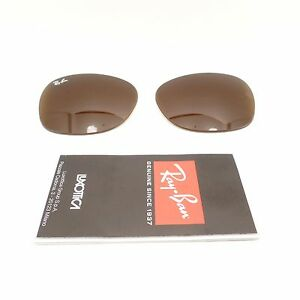 2431d9e8c15 RAY BAN REPLACEMENT LENSES New Wayfarer 2132 Brown Authentic Buyer ...