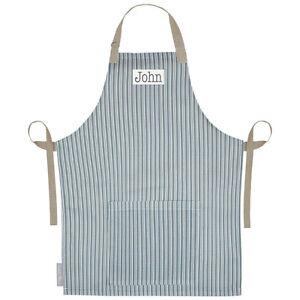 Dettagli su Personalisiert Schürze Leinen UK Kochen Küche Erwachsene  Schürzen Graphit