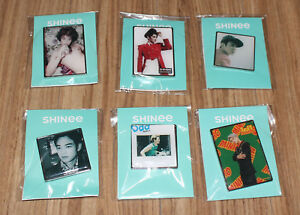 SHINEE-SMTOWN-GIFTSHOP-OFFICIAL-GOODS-MINHO-ALBUM-COVER-EPOXY-BADGE-SEALED