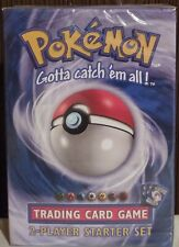 1 Pokemon card Base set 2 Player Starter Deck From Factory Sealed Carton
