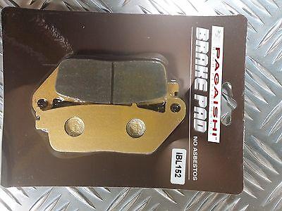 04-06 Semi Metal Rear Brake Pads For HONDA CBF 600 N Non ABS