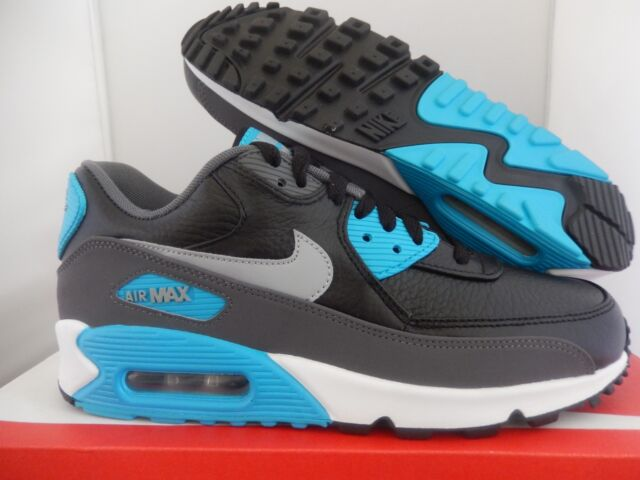 lower price with 1475a 007f6 Size 13 Nike Men Air Max 90 Ltr 652980 004 Blue Black White Grey