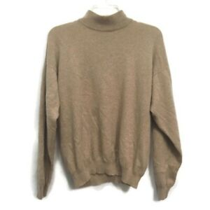 CHARTER-CLUB-100-Cashmere-Women-s-Turtle-Neck-Pullover-Sweater-Size-L