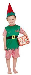 Toddler Santa Little Helper Christmas Xmas Fancy Dress Up Costume Suit Outfit