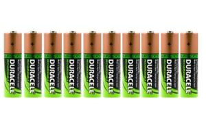 10-x-Duracell-AA-HR06-2450mAh-Capacity-Duralock-NiMH-AA-Rechargeable-Batteries