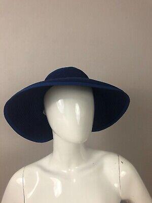 New San Diego Hat Company Women/'s Visor Packable Bounces Back Brown// Black