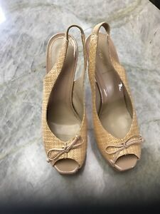 Authentic-pre-owned-Fendi-shoes-sling-back-size-40