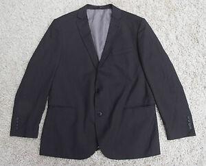Details zu Herren Jacket Größe 26 L Anzug Jacke Schwarz Angelo Litrico Nadelstreifen H50