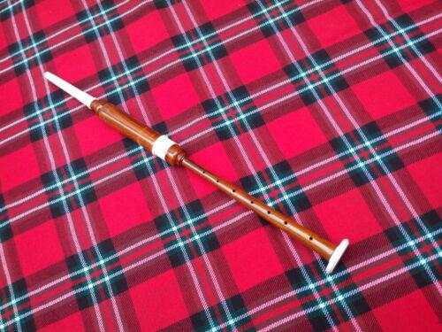 Scottish Great Highland Bagpipes Sheesham Wood Silver Mounts Hard case