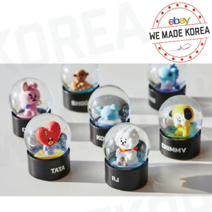 BT21-Character-Mini-Water-Globe-Water-Ball-7types-Official-K-POP-Authentic-Goods