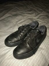 3c2f9feaab046 item 1 PRE-OWNED Nike SB ZOOM Stefan Janoski Leather BLACK sz 10 -PRE-OWNED Nike  SB ZOOM Stefan Janoski Leather BLACK sz 10