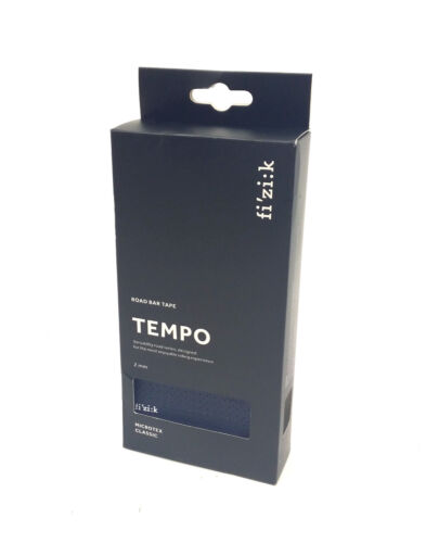 Fizik Tempo Classic Road Bike Bar Tape Microtex 2mm Dark Blue