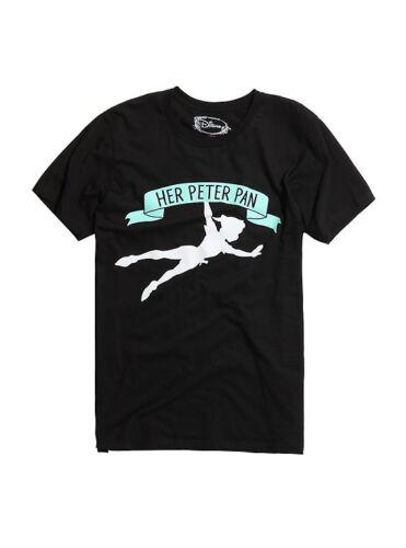 DISNEY PETER PAN HER CLASSIC License T-shirt Disney Men/'s New