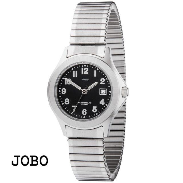 Jobo Mujer reloj de pulsera cuarzo Análogo reloj mujer resistente al agua 10 ATM
