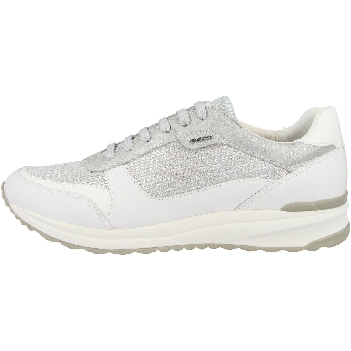 Geox D Airell C Scarpe Donna scarpe da ginnastica Sport da Ginnastica argentoo | Della Qualità  | Scolaro/Ragazze Scarpa