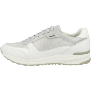 separation shoes a6969 4f2e1 Details zu GEOX D Airell C Schuhe Damen Sneaker Sport Turnschuhe silver  D642SC0LY85C0434