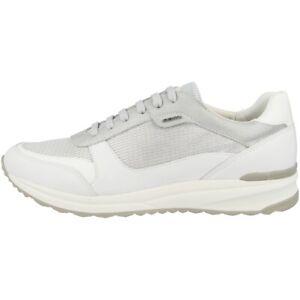 separation shoes 2805a fa68a Details zu GEOX D Airell C Schuhe Damen Sneaker Sport Turnschuhe silver  D642SC0LY85C0434