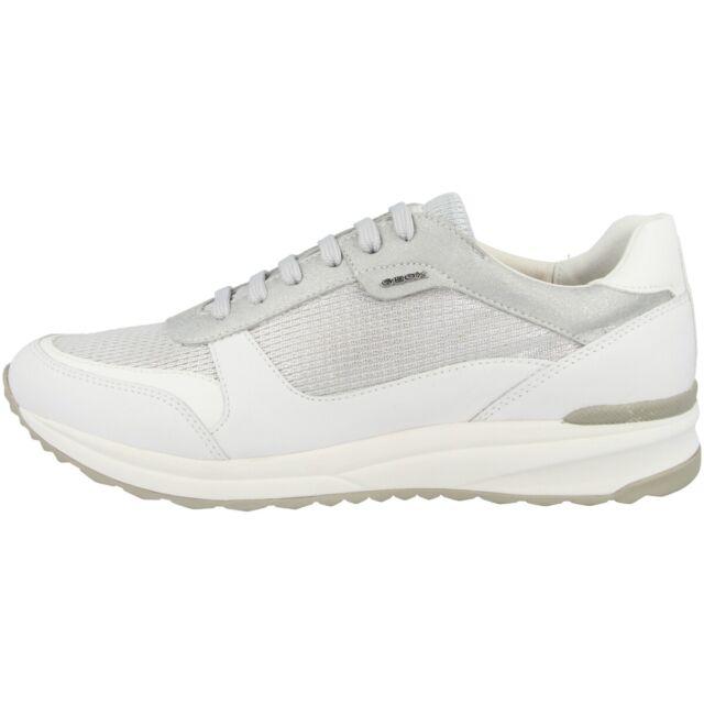 Geox D Airell C Scarpe Donna Sneaker Sport da Ginnastica Argento