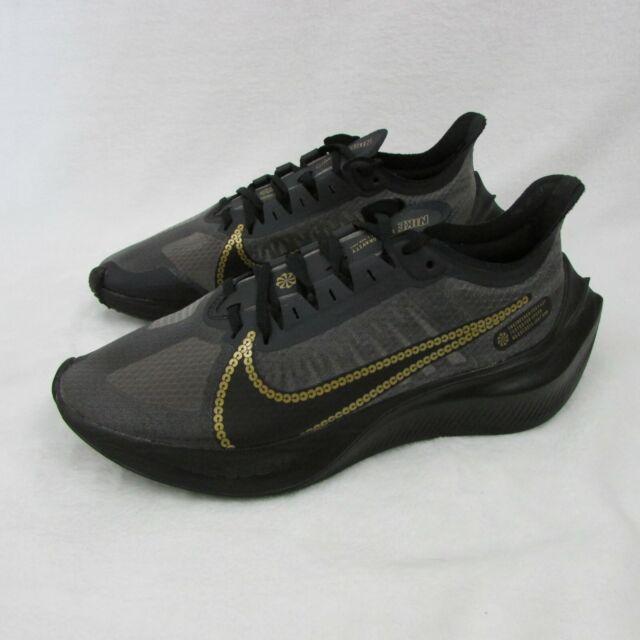 Nike Zoom Gravity Women's Size 8.5 Shoes Black & Gold CT1159-001 Eur 40