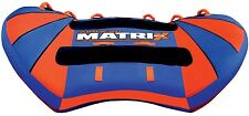 Airhead Matrix V-3 Flat Inflatable Water Tube 3 Rider Boat Tow Towable AHMX-V3