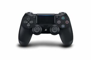 Sony-PlayStation-4-Jet-Black-Dualshock-Controller-Brand-New