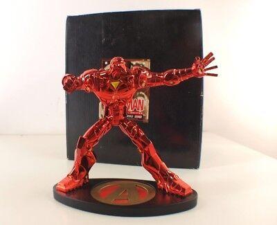 PräZise Hyperchild Figürchen Iron Man Nr 40/100 Crimson Metall Marvel 19,5 Cm