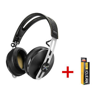 Sennheiser MOMENTUM 2 Around-Ear Wireless Buetooth Headphones. Black. +Free Zagg