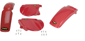 MAIER BODY KIT FRONT REAR FENDER SIDE PANELS FOR HONDA XR75 XR 75 77-82 XR80 80