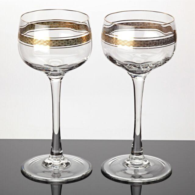 gl ser mit goldrand gold rand weingl ser sektgl ser trinkgl ser glas kollektion erkunden bei ebay. Black Bedroom Furniture Sets. Home Design Ideas