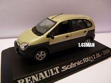voiture 1/43 M6 Universal Hobbies : RENAULT scénic RX 4 2.0L 2000