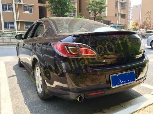 Factory Style Spoiler Wing ABS for 2009-2012 Mazda 6 Sedan Spoiler Wing B