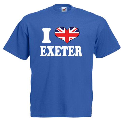 I love coeur d/'Exeter children/'s kids t shirt