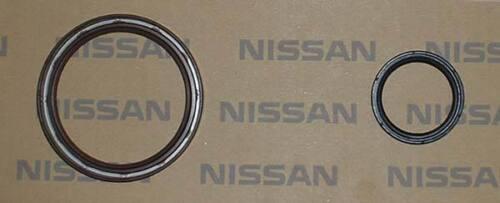 Rear Main Crank Seal KA24DE KA24E KA24 S13 S14 240SX Stanza Nissan OEM Front