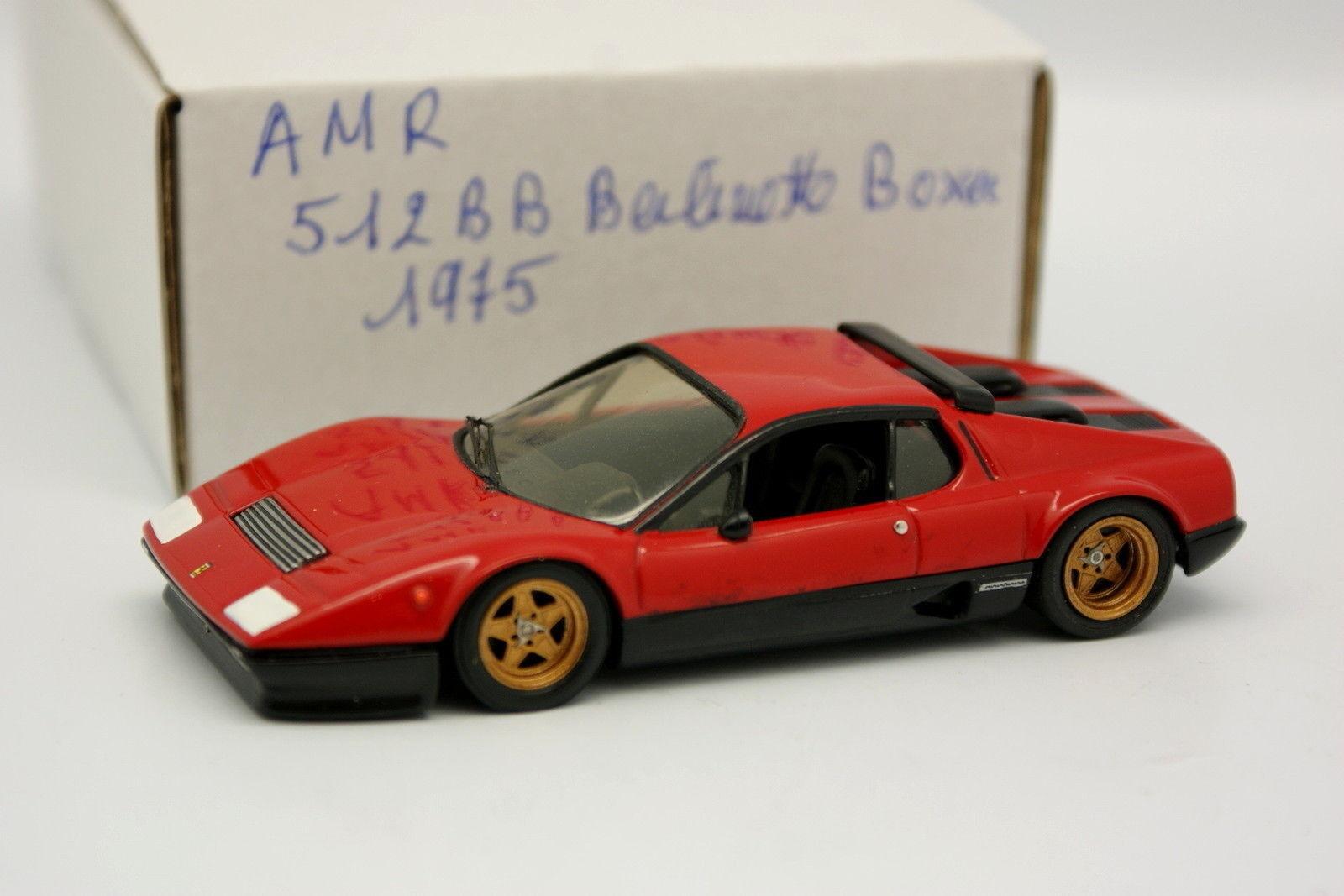 AMR Set Aufgebaut 1 43 - Ferrari 512 BB 1975 Rot