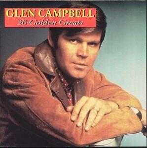 GLEN-CAMPBELL-20-Golden-Greats-CD-BRAND-NEW