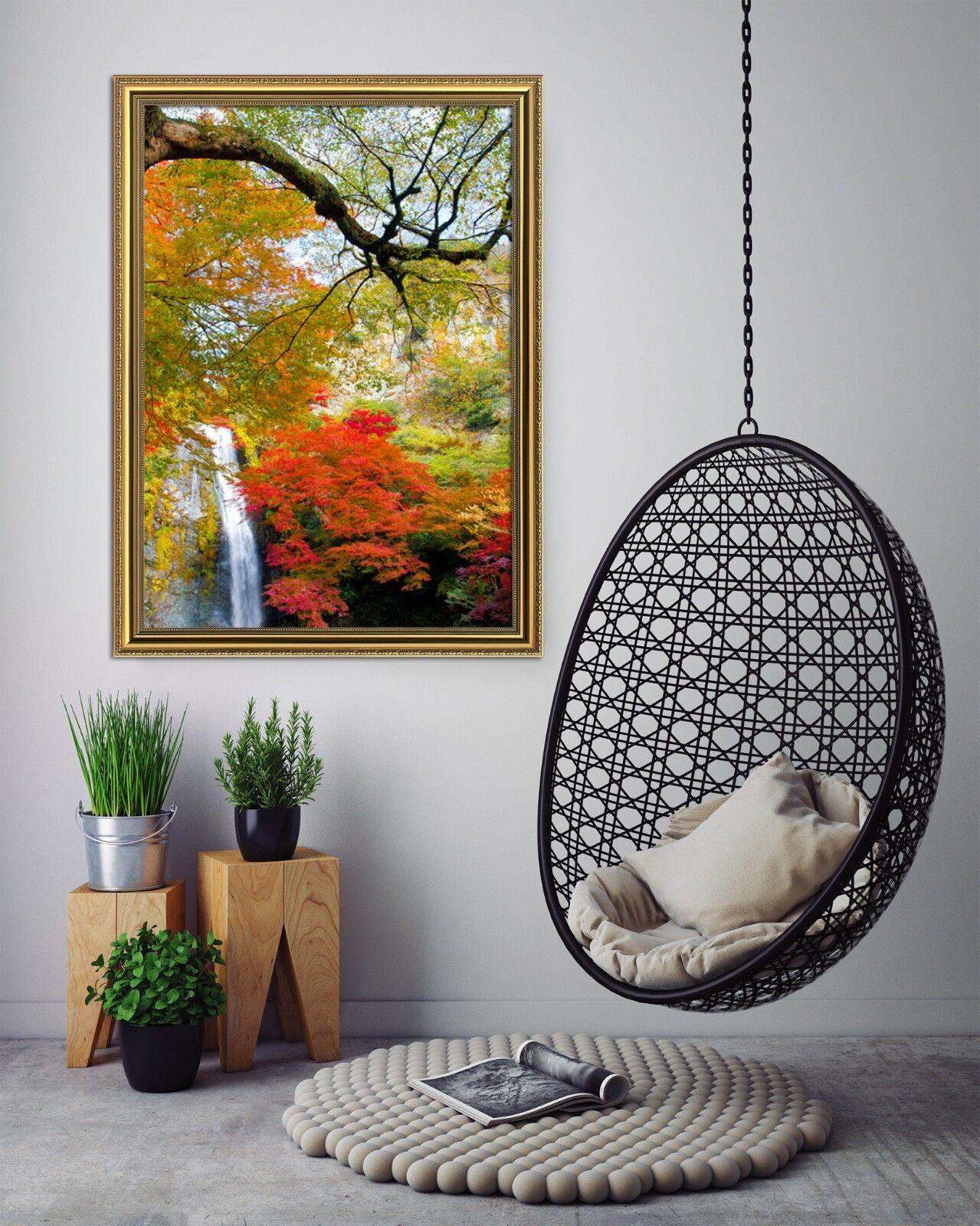 3D Stream Maple 511 Framed Poster Home Decor Print Painting Art AJ AU
