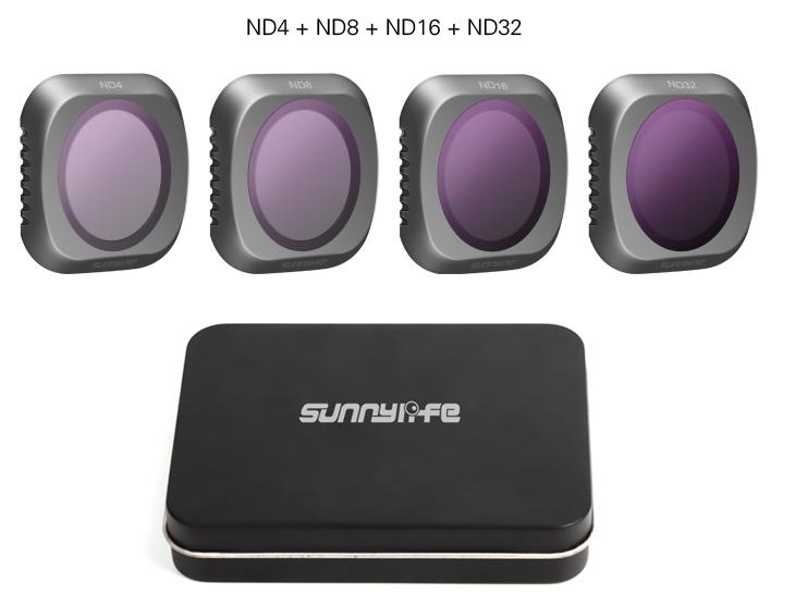 DJI Mavic 2 Pro Camera Lens Filter 4pcs Combo : ND4+ND8+ND16+ND32