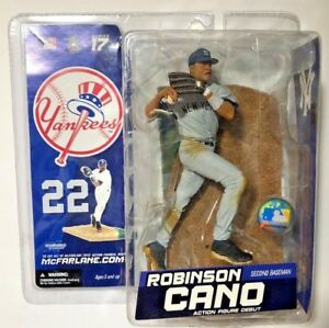 McFarlane 2007 Robinson Cano New York Yankees Série 17 SPORTS PICKS NEW IN BOX