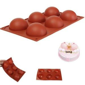 Sphere-Mold-Silicone-Fondant-Mould-Cake-Decorating-Sugar-Craft-Baking-Tools-AL