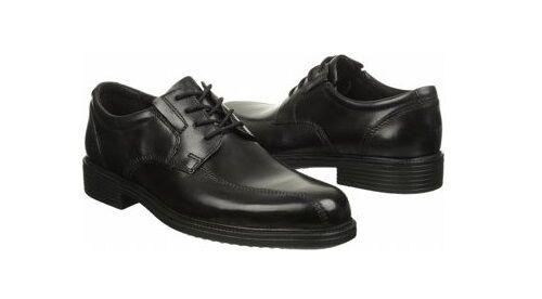 New Mens Black Smooth Leather Bostonian Bardwell Walk Oxfords Retail $90