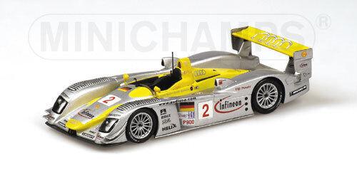 Audi R8 Infineon ALMS Petit le mans 2002 400021382 1 43 Minichamps