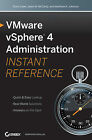 VMware VSphere 4 Administration Instant Reference by Matthew K. Johnson, Scott Lowe, Jason W. McCarty (Paperback, 2009)
