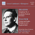 Brahms: Symphony No. 1; Academic Festival Overture; Wagner; Tristan und Isolde - Prelude to Act 1; Siegfried Idyll (CD, Feb-2008, Naxos Historical)