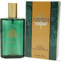 Aspen For Men-coty-spray Cologne-4.oz-118 Ml-authentic-made In Usa