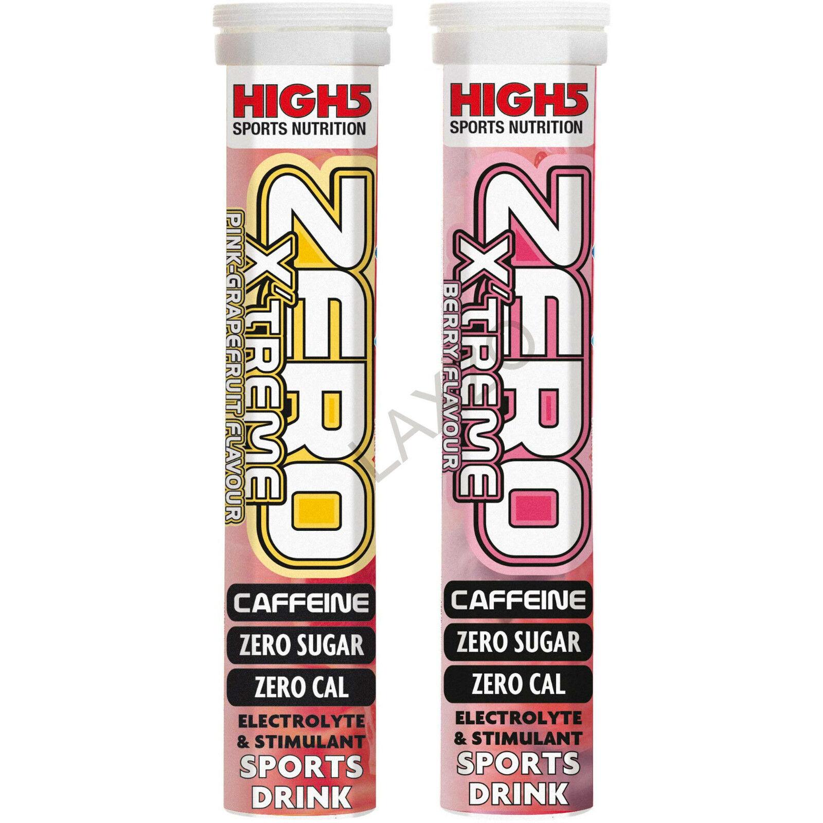High5 Zero Xtreme Hydration Elektrolyt Getränk Tabletten Sport Getränk Radsport
