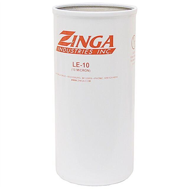 hydraulic oil filter element zinga le-10 micron fits parker 927736 case  a45625