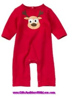 Crazy 8 NWT 1-pc Brown GINGERBREAD BOY HOLIDAY FLEECE FOOTED ROMPER OUTFIT 0 3 M