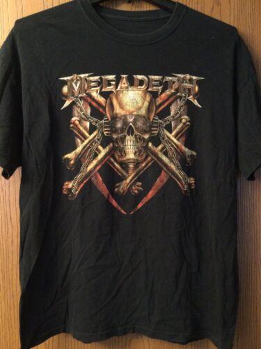 Megadeth.  Black Shirt.  No Tag.