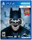 Batman: Arkham VR For Playstation 4 - Sony PlayStation VR